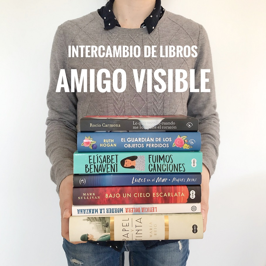 Intercambio de libros en Instagram